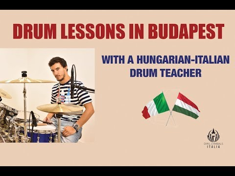 Drum Lessons In Budapest